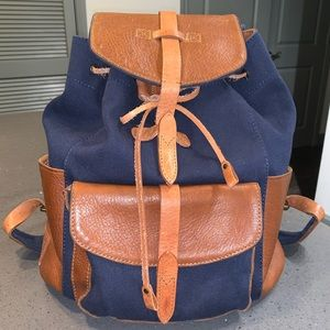 Will Leather Goods Canvas/Leather Rainier Backpack